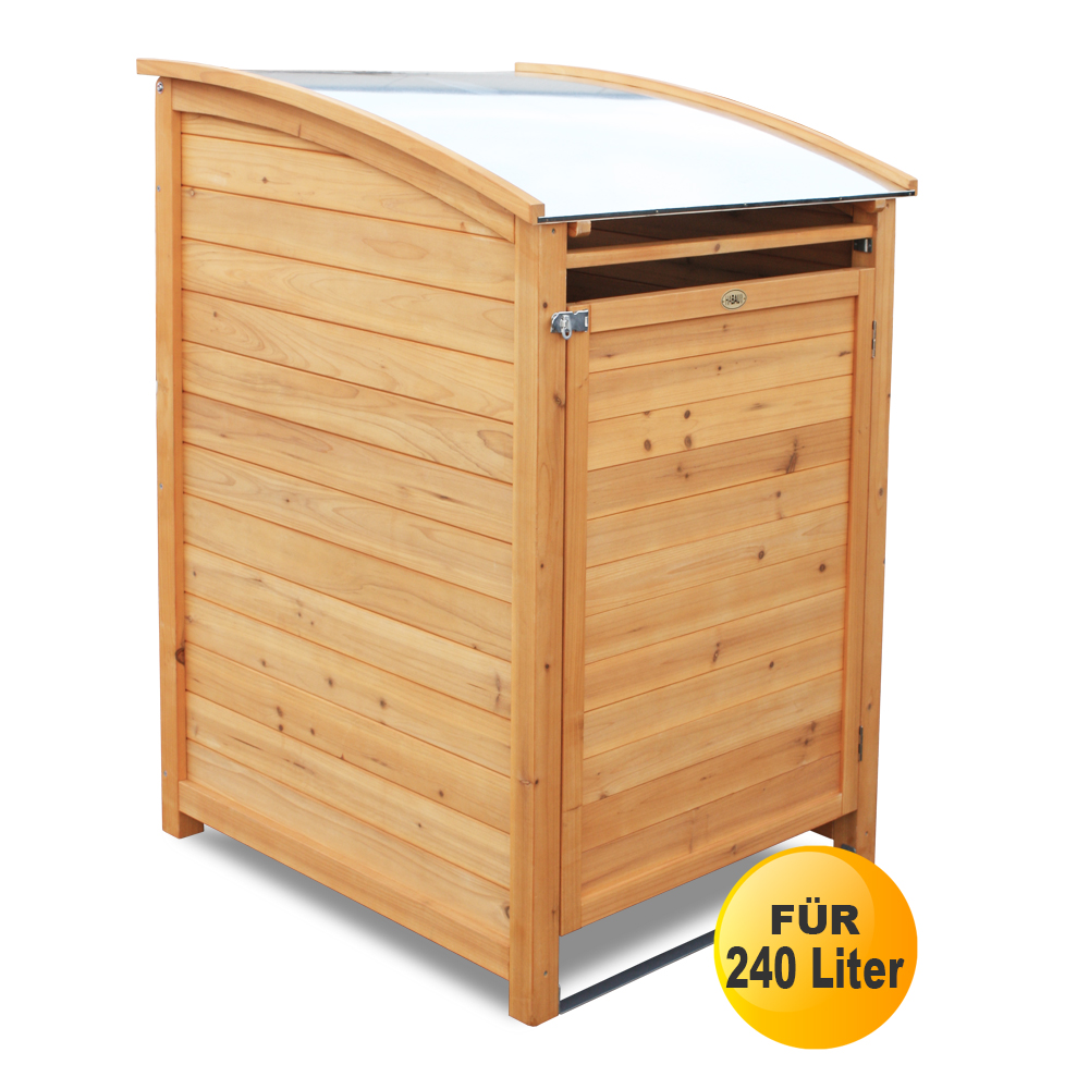 Mülltonnenbox PLUS für 240 Liter Tonnen