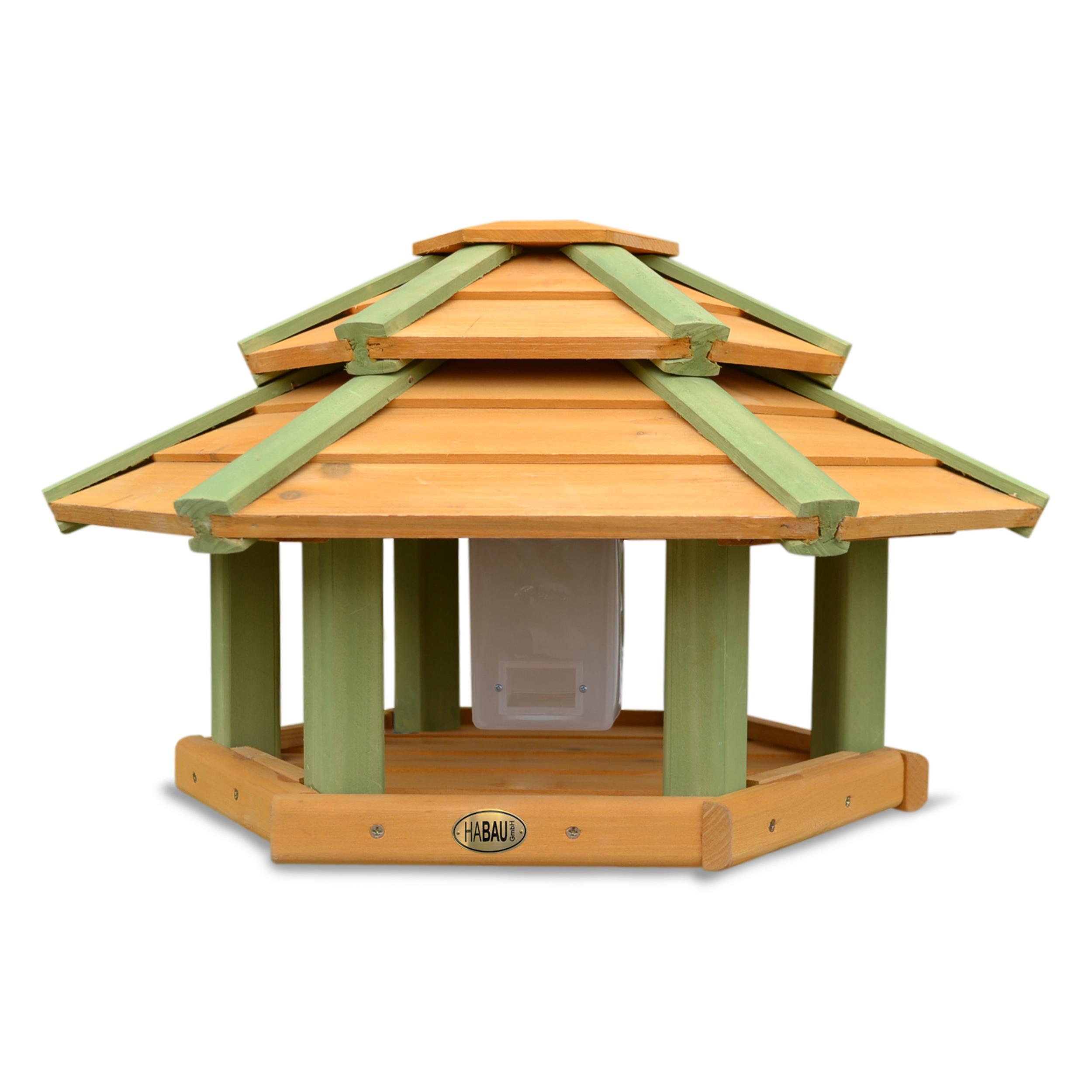 HABAU Vogelhaus Tokyo mit Silo und Standfuß - 2523