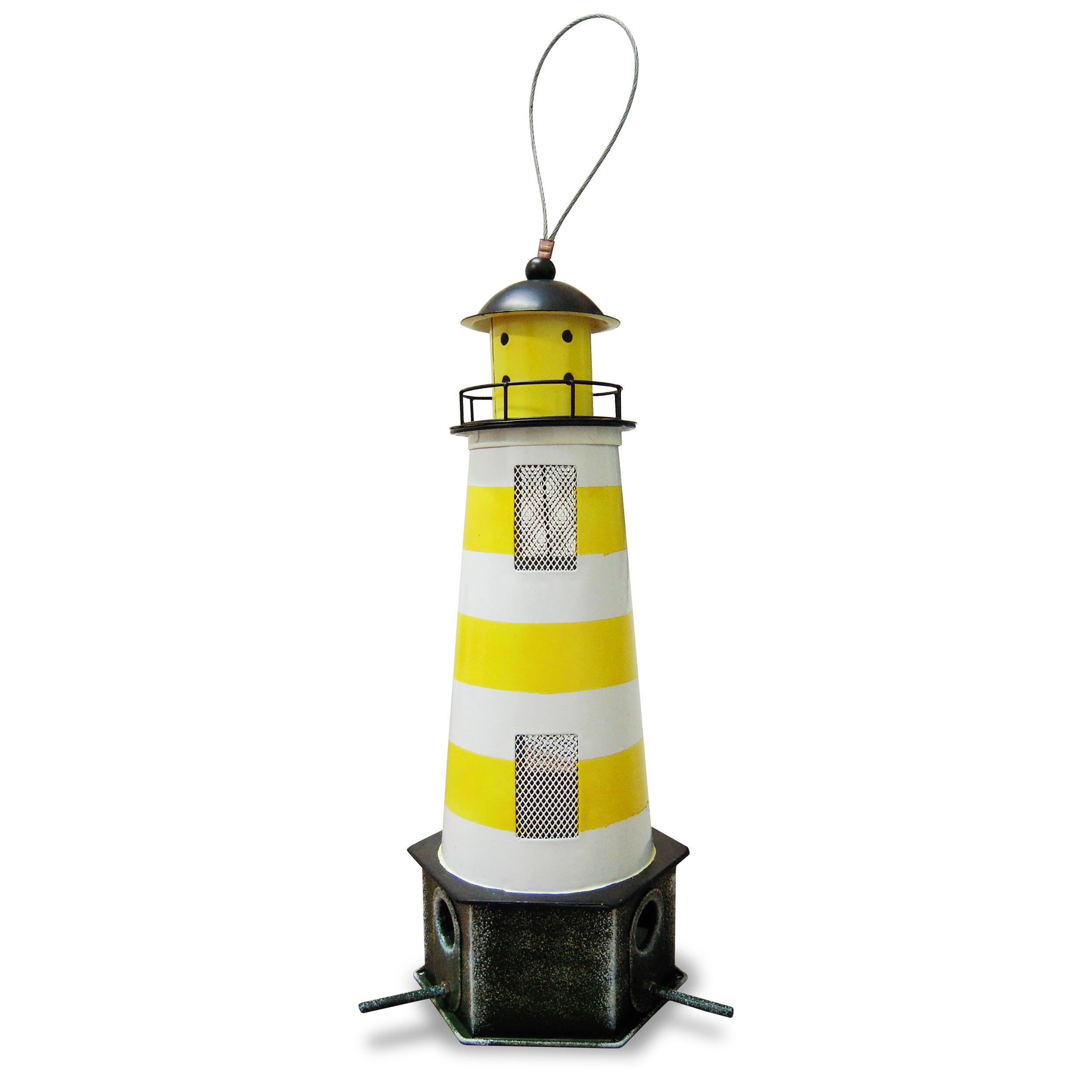 Futtersilo Leuchtturm, gelb