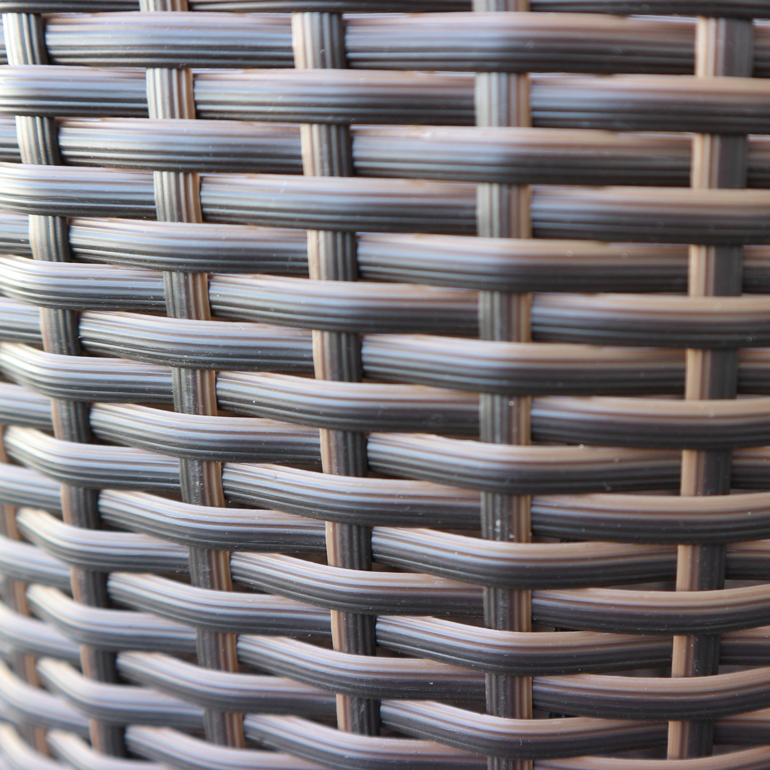 HABAU Pflanzsäule Miami - Kunststoffgeflecht - 2615
