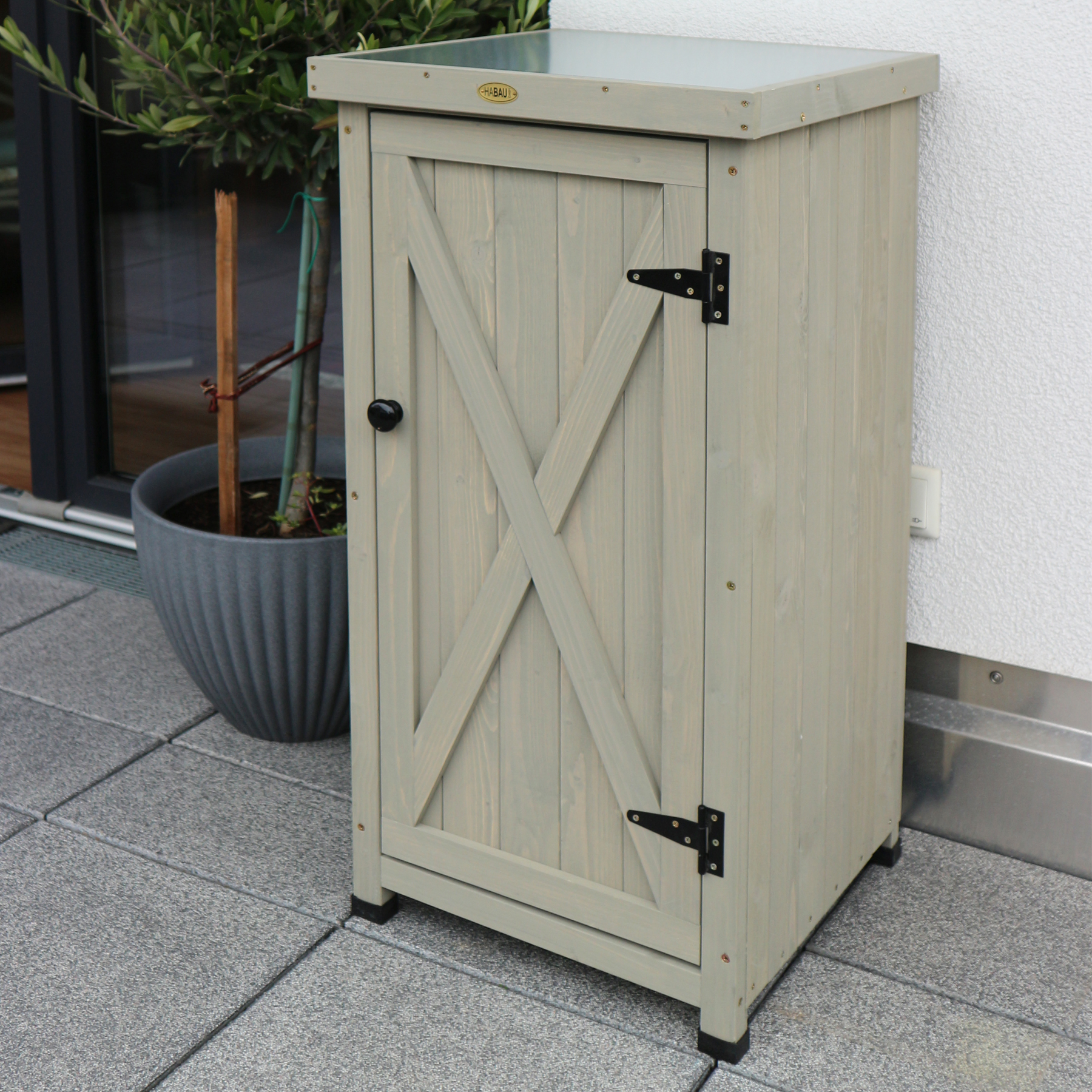 HABAU Gartenschrank Kompakt - Ambiente - 3085
