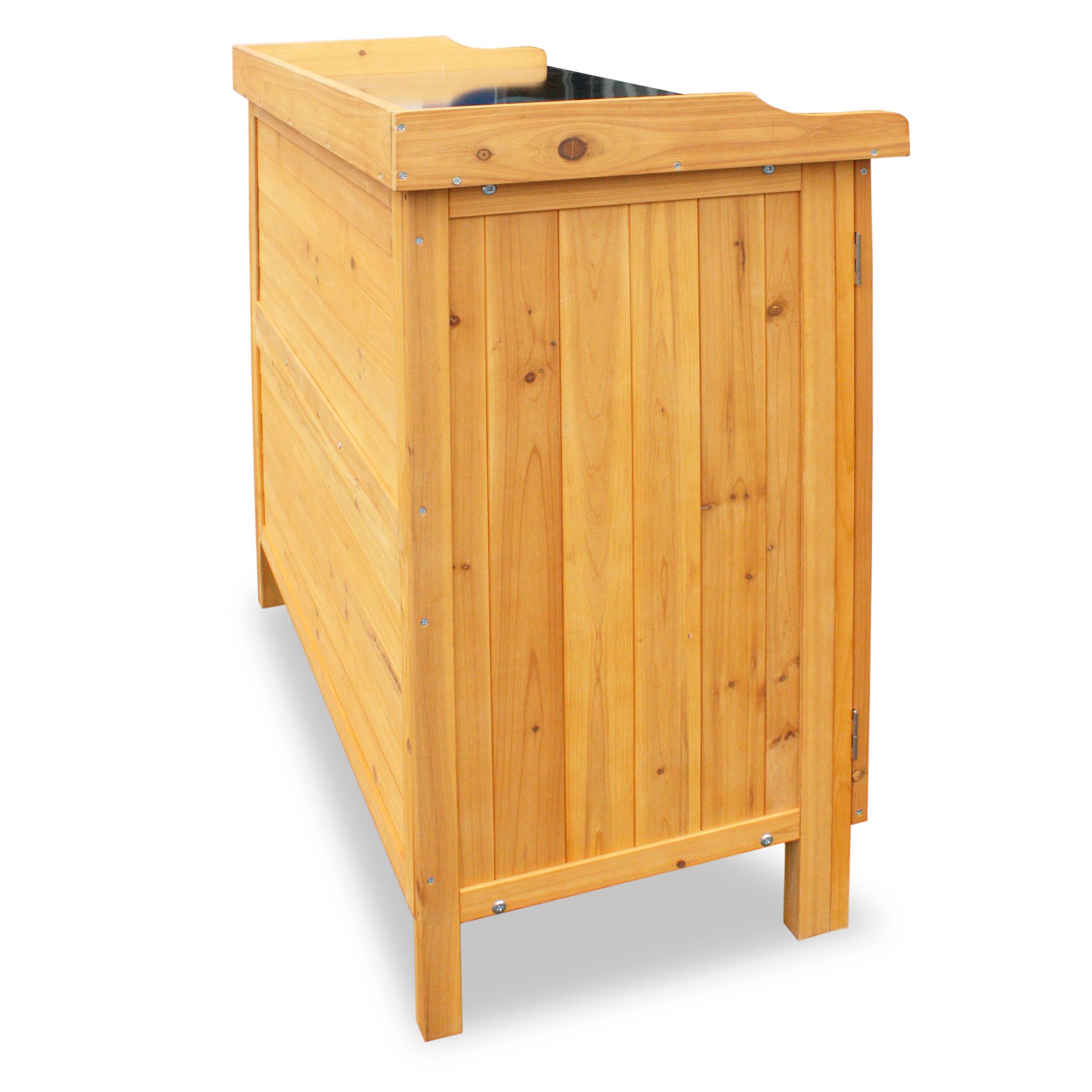 HABAU Gartentisch mit Unterschrank - 3106