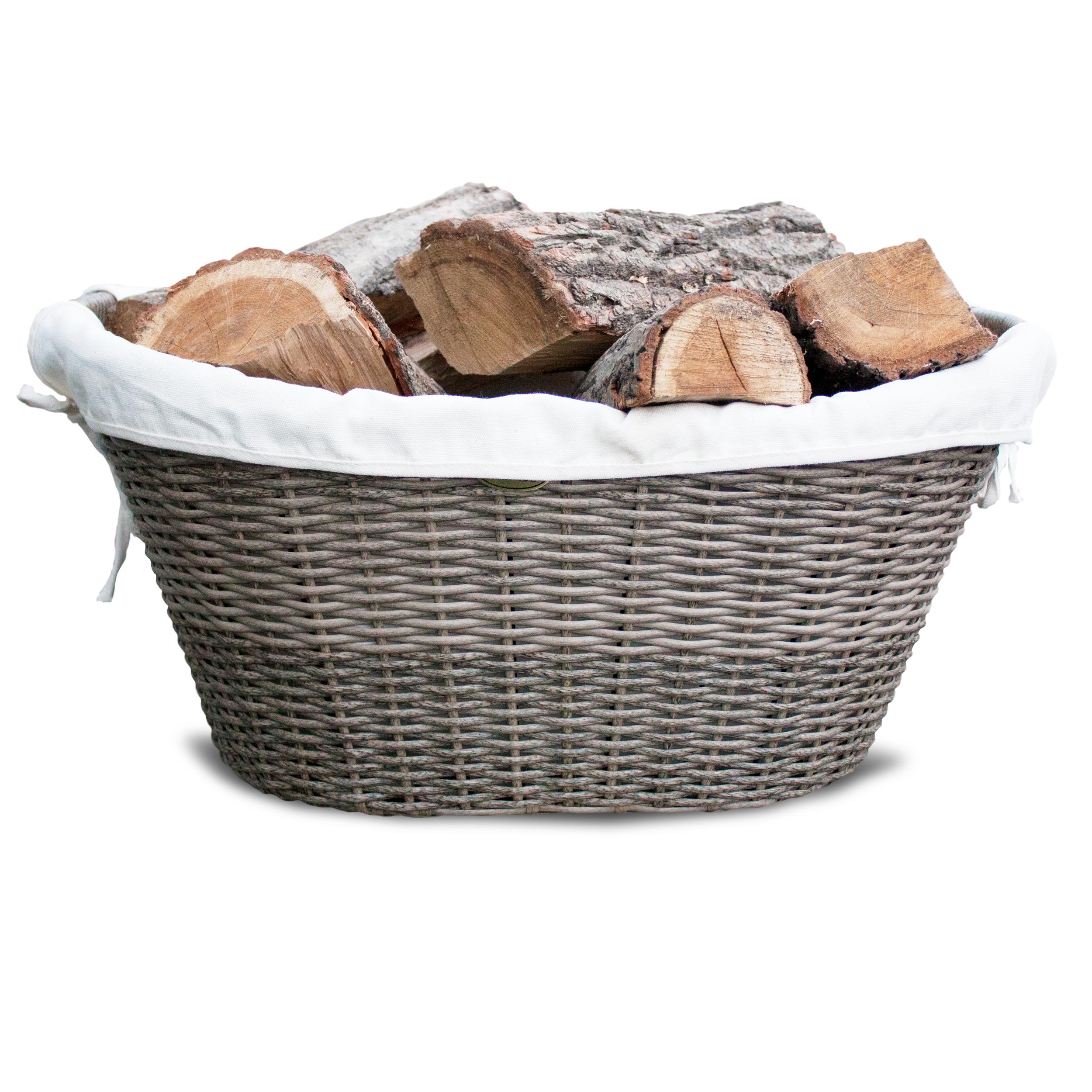 HABAU Holzkorb aus Polyethylen - 2681