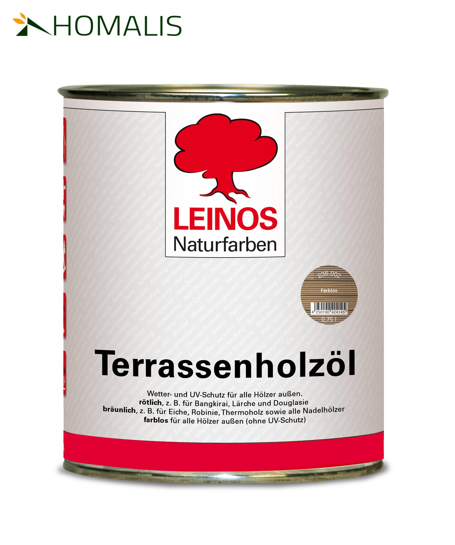 LEINOS Holzöl für alle HABAU Gartenprodukte
