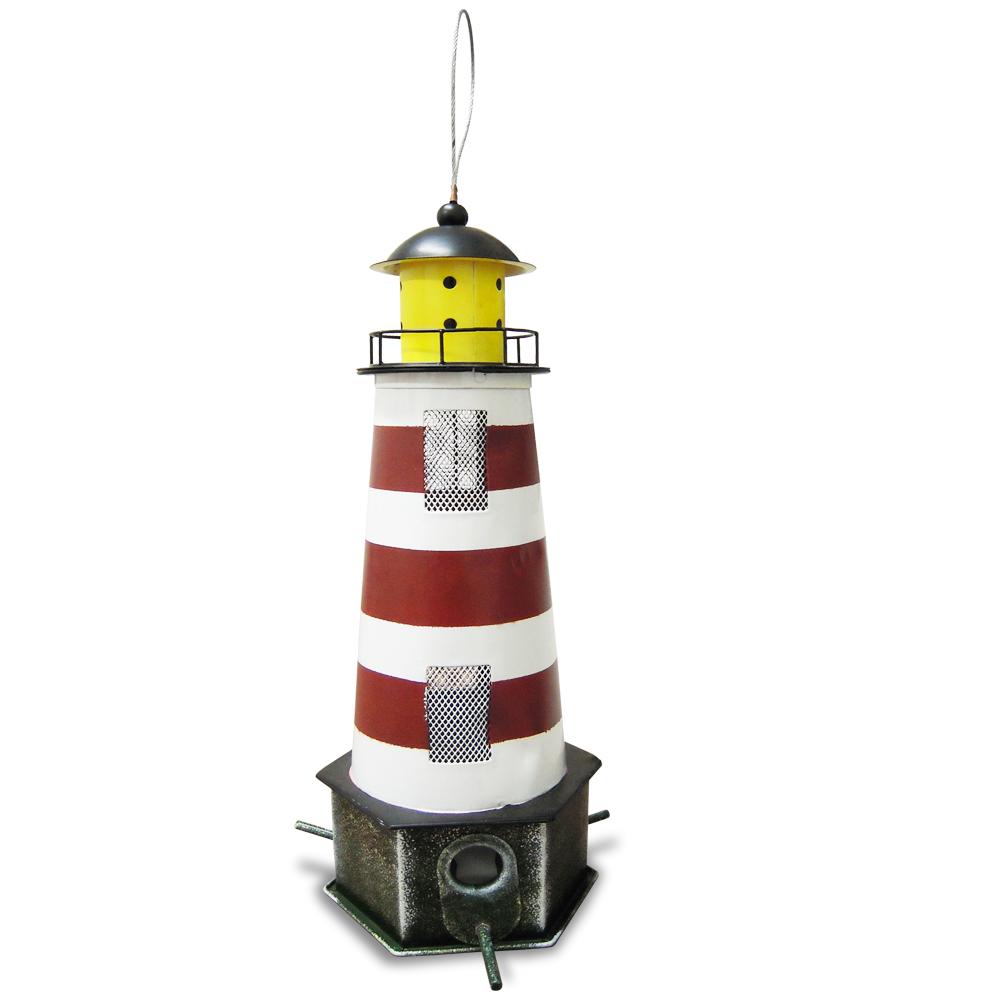 "HABAU Futtersilo ""Leuchtturm"", rot"