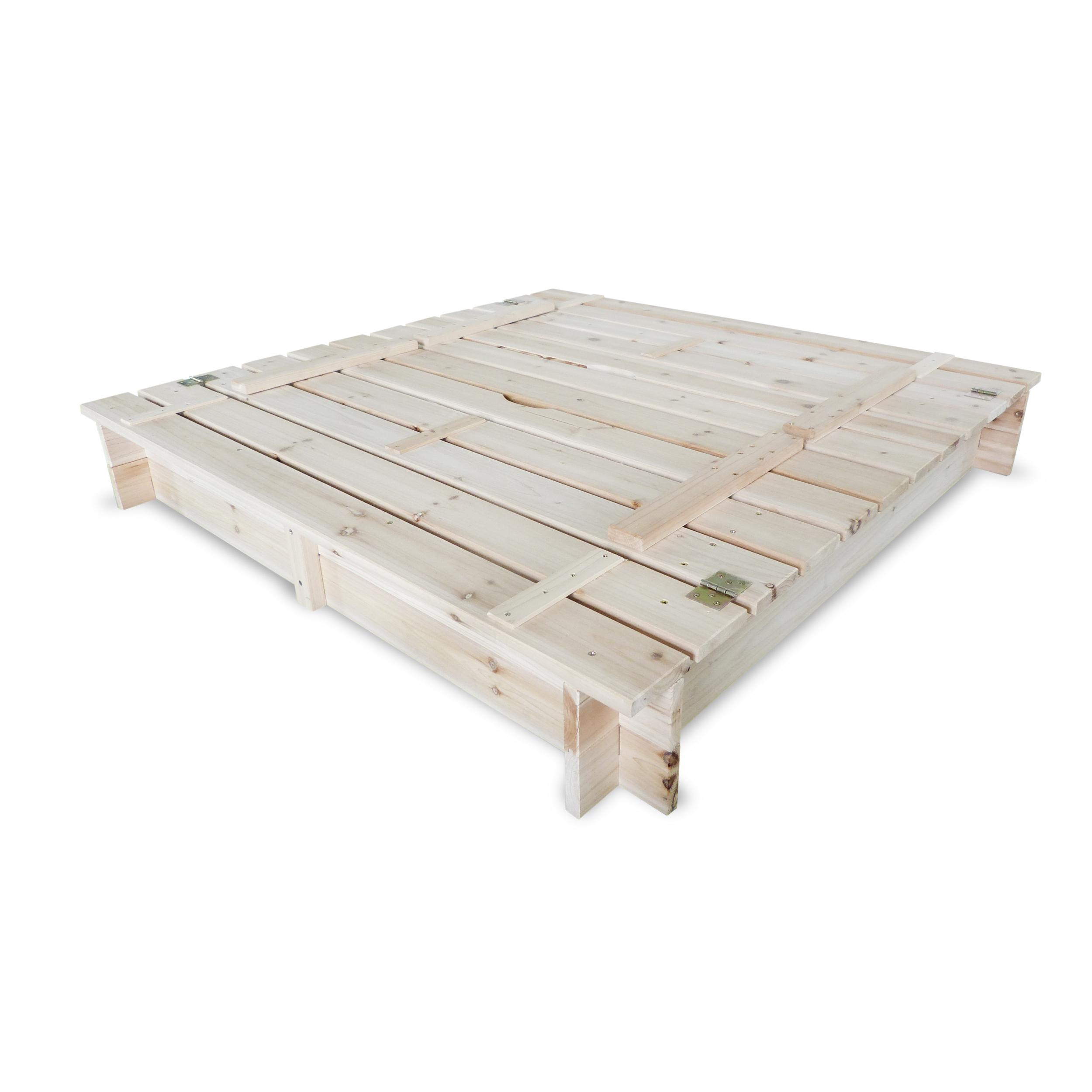 HABAU Sandkasten mit Deckel - geschlossen - 3022