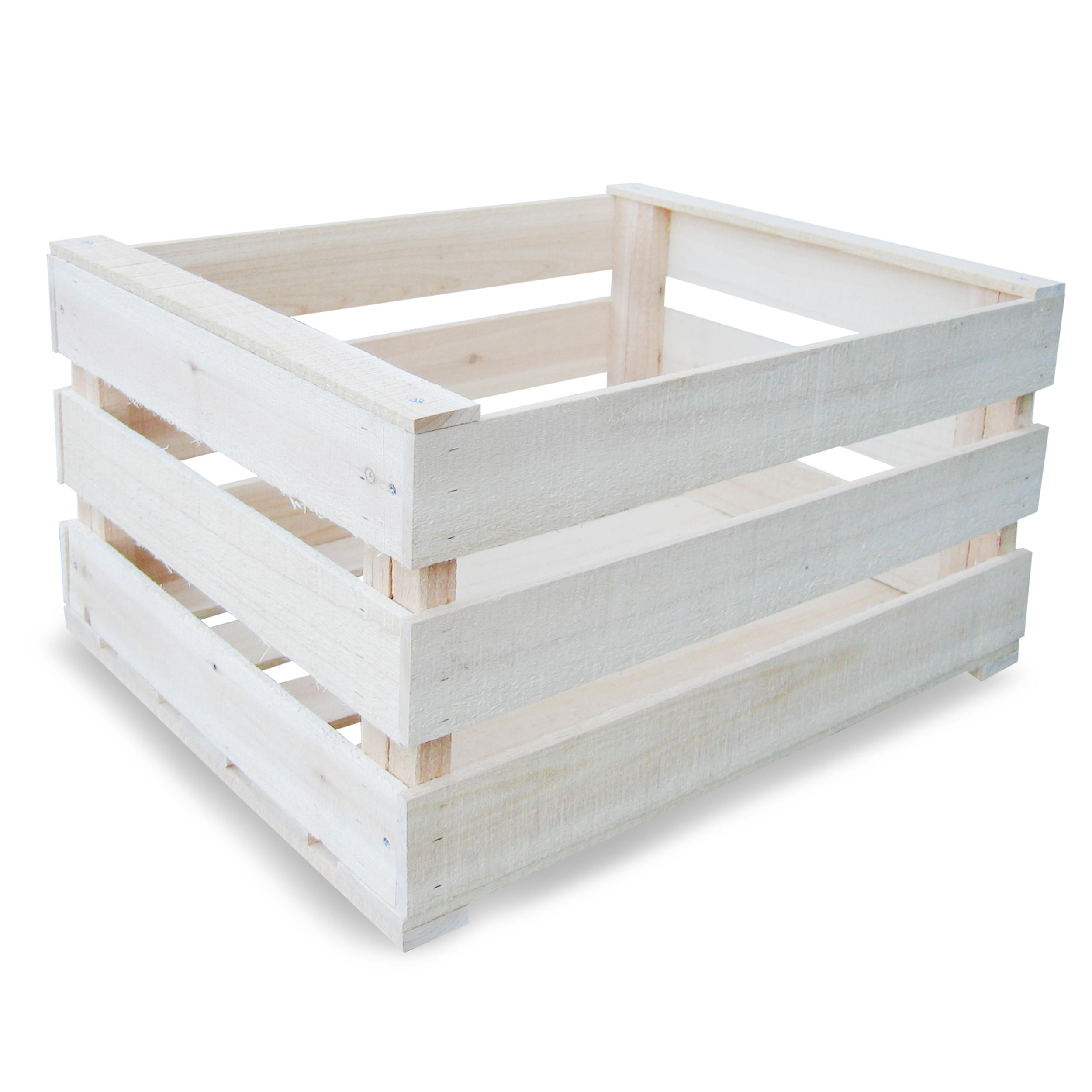 HABAU Holzkiste 619 - 50 x 39 x 28 cm - montiert