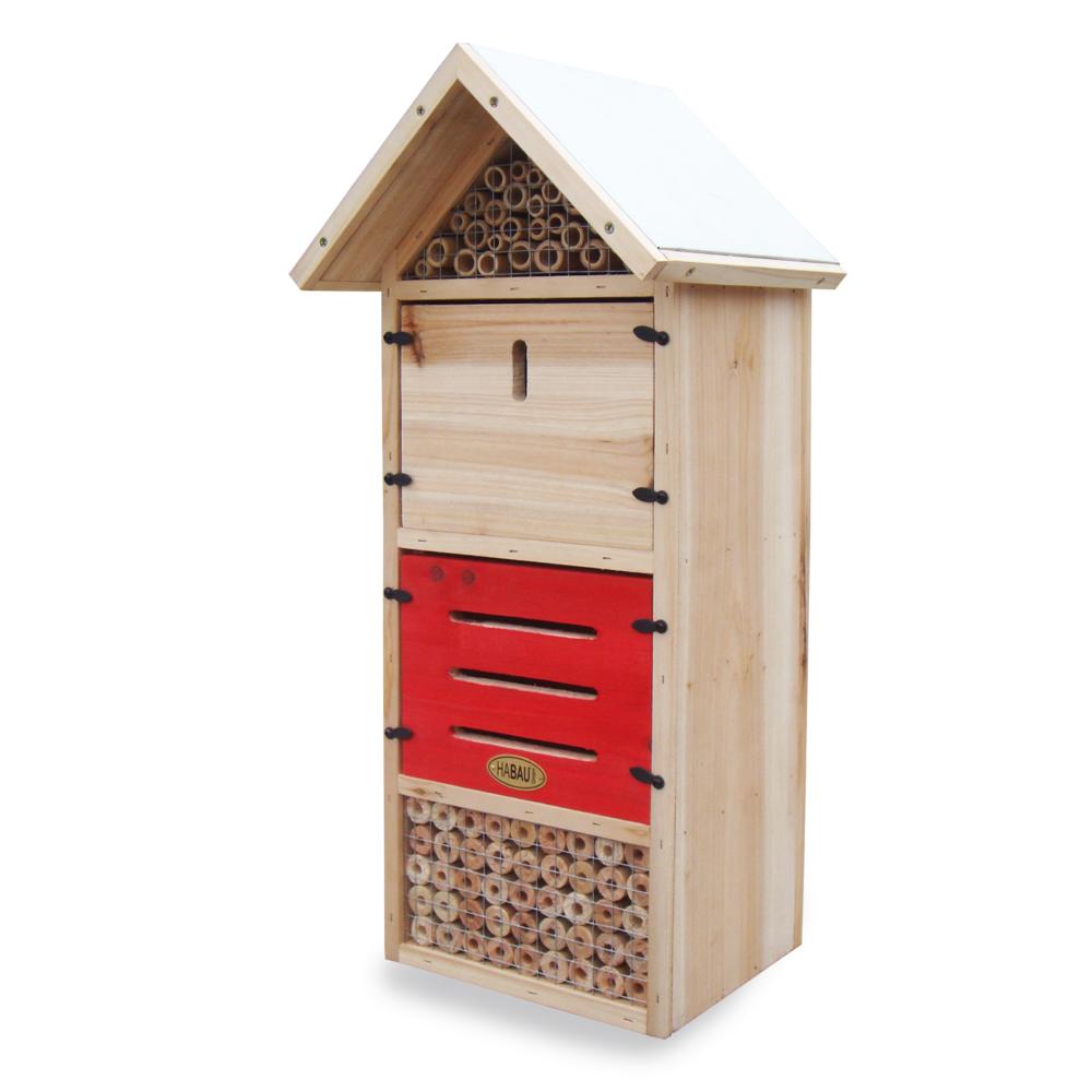 Insektenhotel Kompakt, 25 x 20 x 55 cm