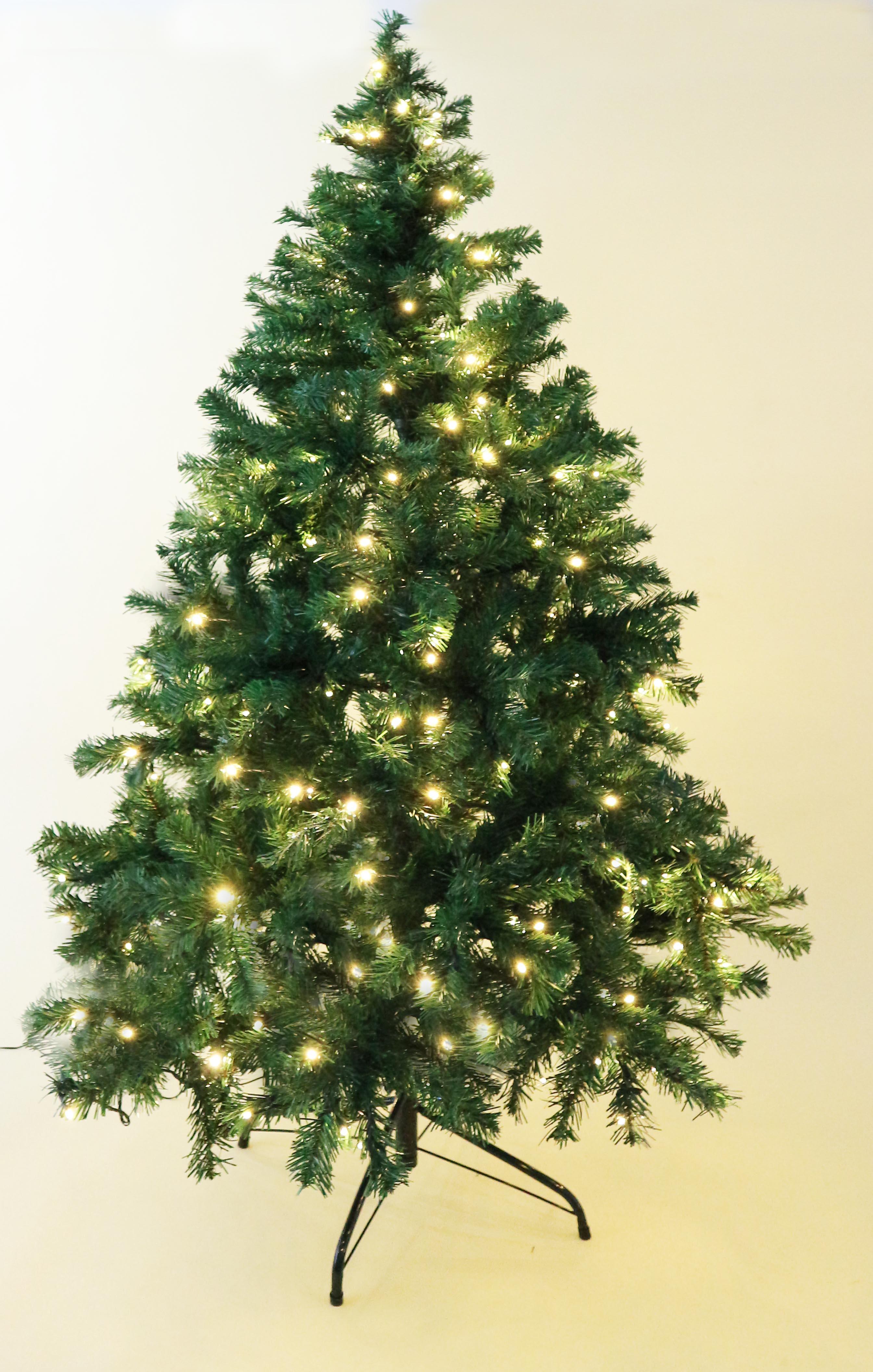 HABAU Weihnachtsbaum, künstlich, mit Beleuchtung